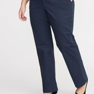 Classic Bootcut Chinos in Navy 22Plus Long